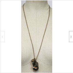 AEO American Eagle Necklace Clustered Hearts Penda